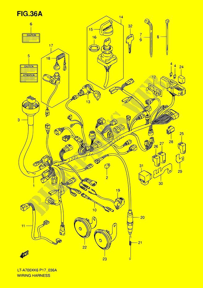 Suzuki Lta 700 Wiring Diagram