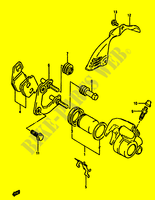 FRONT BREMSSATTEL (P4 MODEL R,P34,P53 MODEL GR) für Suzuki ADDRESS 50 1992