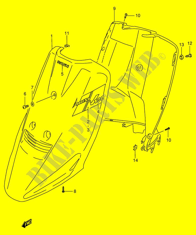 BEIN VERKLEIDUNG MODEL M P VERKLEIDUNG RAHMEN AG100T E71 1996 ...