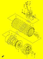 Kupplungsfeder verstärkt 4Stk 1991-1996 EBC CSK026 Suzuki DR 650 RSE Bj