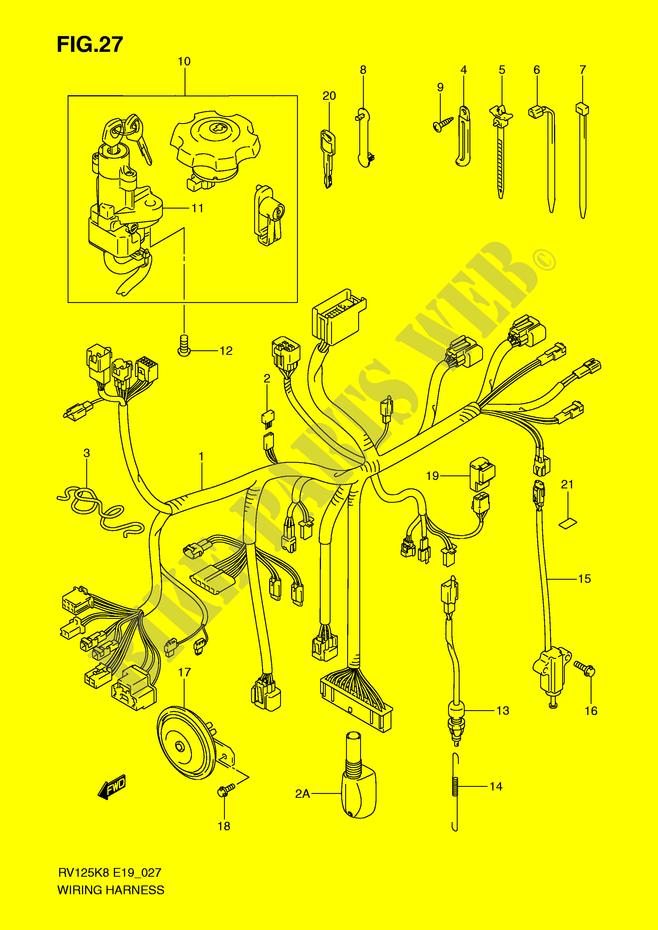 Niedlich Grundlegende Motorrad Schaltplansymbole Bilder ...